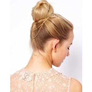 ASOS – Haarkämme mit Blattverzierung und Verbindungsketten