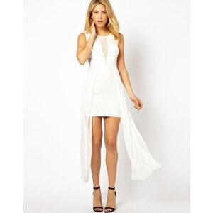 AX Paris – Hautenges Kleid mit Chiffonbesatz