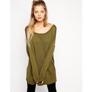 ASOS - Übergroßer, drapierter Pullover