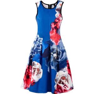 BODYFLIRT boutique Kleid in Scubaoptik Angela ohne Ärmel in blau von bonprix
