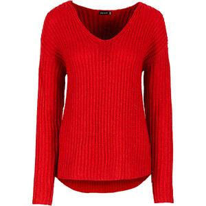 BODYFLIRT Strickpullover in rot für Damen von bonprix