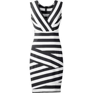 BODYFLIRT boutique ärmelloses Kleid ohne Ärmel in schwarz von bonprix