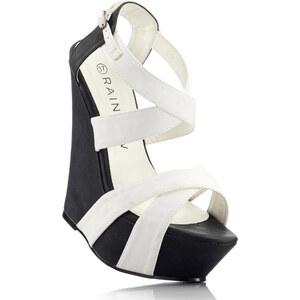 RAINBOW Sandalette in schwarz für Damen von bonprix