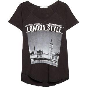 MANGO T-Shirt Mit City-Aufdruck