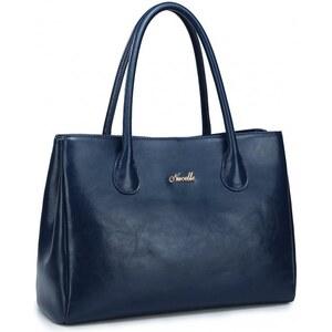 NUCELLE dámská kožená kabelka Oxford modrá - Glami.cz f6fe7c18860