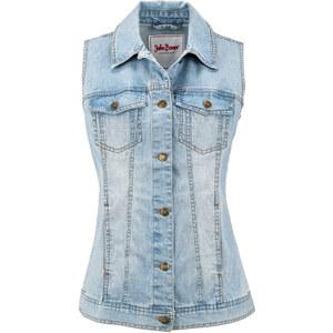 John Baner JEANSWEAR Jeans-Weste ohne Ärmel in blau für Damen von bonprix