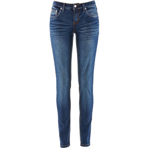 John Baner JEANSWEAR Stretch-Jeans SKINNY, Lang in blau für Damen von bonprix