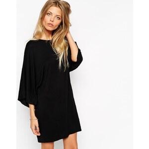 ASOS - T-Shirt-Kleid mit Kimono-Ärmel - Schwarz 24,99 €