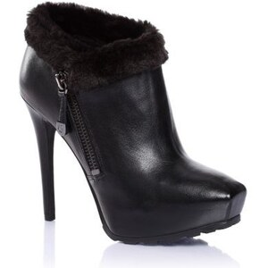 Guess Ivorie Leather Ankle Boot