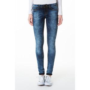 Tally Weijl Dunkelblaue Jeans mit leichter Waschung
