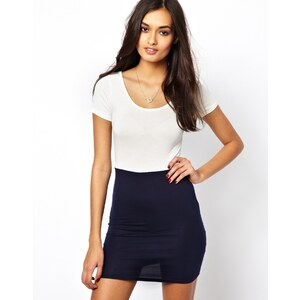 Club L Colourblock Bodycon Dress