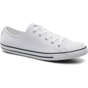 Converse - All Star Dainty Cuir Ox W - Sneaker für Damen / weiß