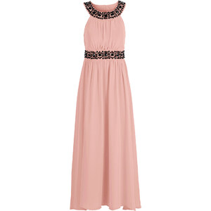 BODYFLIRT Maxi Kleid in rosa von bonprix