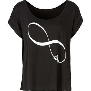 RAINBOW T-Shirt in schwarz (Rundhals) für Damen von bonprix