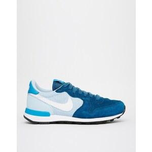 Nike - Internationalist - Blaue Turnschuhe