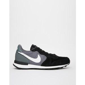 Nike - Internationalist - Schwarze Turnschuhe - Schwarz