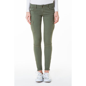 Tally Weijl Khakigrüne Cargo-Hose mit aufgesetzten Taschen