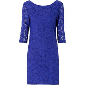 RAINBOW Spitzen-Kleid 3/4 Arm in blau von bonprix