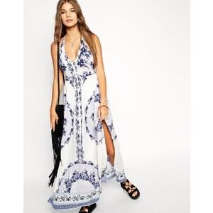 ASOS - Langes Strandkleid mit Blumenprint - Blumendruck