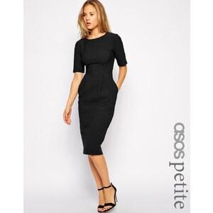ASOS PETITE - Wiggle - Kleid mit Struktur - Grün