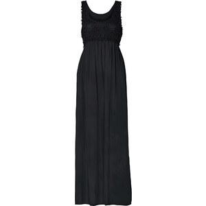 RAINBOW Maxi-Kleid ohne Ärmel in schwarz (Rundhals) von bonprix