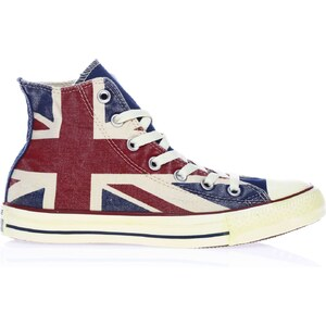 Converse Ctas Union jack - High Sneakers - weiß
