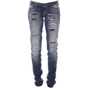Guess Starlet - Jean skinny - used bleu délavé