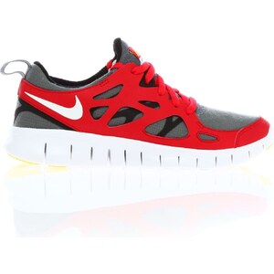 Nike Free Run 2 (GS) - Baskets - rouges