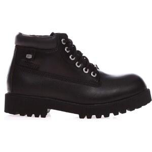 Skechers Sergeabt Verdict - Boots - en cuir noir