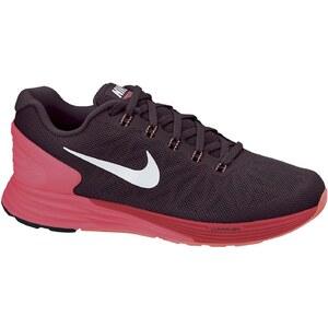 Nike WMNS NIKE LUNARGLIDE 6 DP BRGNDY/WHITE-HYPR PNCH-ACTN - Sneakers - schwarz