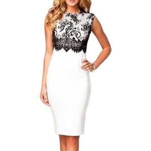 Chic Dresses Kleid aus Spitze - weiß