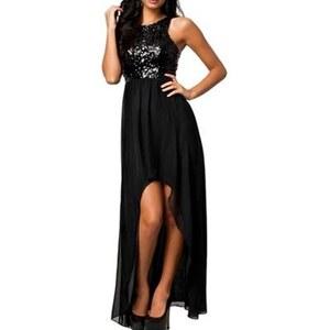 Chic Dresses Robe longue - noir