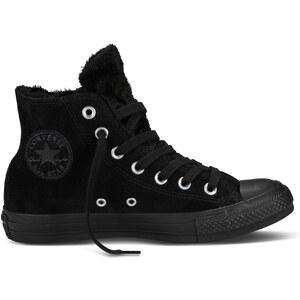 Converse CT Fun Fur Hi - Sneakers - schwarz