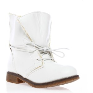 Wilady Bottines - fourrées blanches