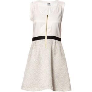 Vero Moda Kleid 2 in 1 - weiß und grau