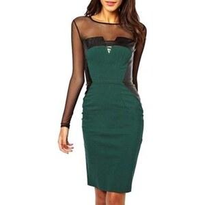 Chic Dresses Robe bustier - vert