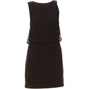 Colorblock Kleid - schwarz