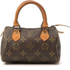Louis Vuitton Mini Speedy Monogram - Sac Louis Vuitton - brun