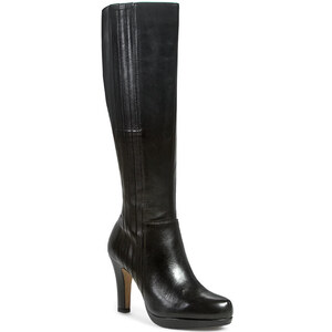 Stiefel CLARKS - Kendra Candy 261039304 Black Leather