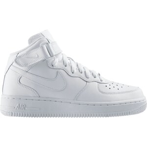 Nike Air Force 1 Mid (GS) - Baskets - blanches