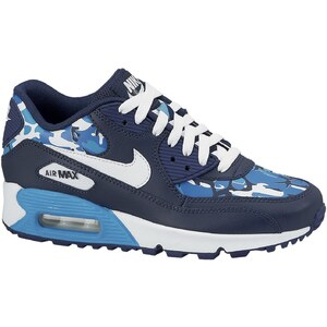 Nike Air Max 90 Print (GS) - Sneakers - blau