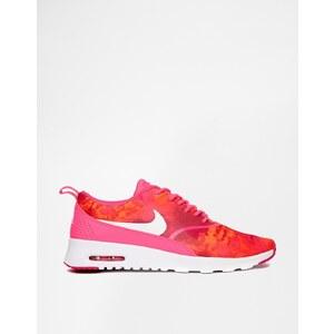Nike - Thea - Turnschuhe, pink-gemustert