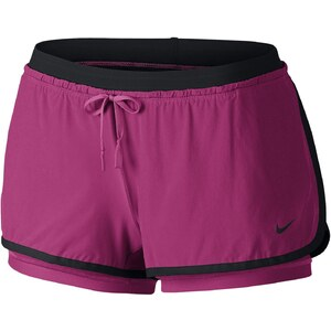 Nike Full Flex 2 in 1 - Short - bordeaux