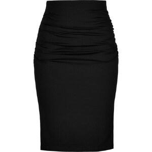 Paule Ka Stretch Cotton High-Waisted Pencil Skirt
