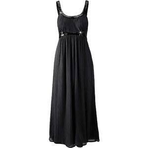 BODYFLIRT Abendkleid ohne Ärmel figurbetont in schwarz (Rundhals) von bonprix