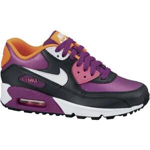 Nike Air Max 90 2007 (GS) - Baskets - noir et violet