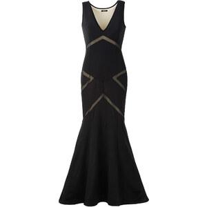 BODYFLIRT boutique Kleid mit Cut-outs ohne Ärmel in schwarz von bonprix