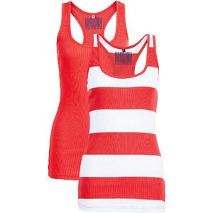 RAINBOW Rip Tops (2er-Pack) in rot für Damen von bonprix