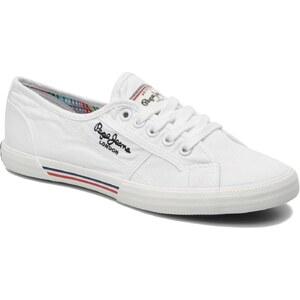 Pepe jeans - Aberlady - Sneaker für Damen / weiß