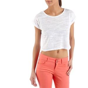 Camaieu T-shirt cropped femme